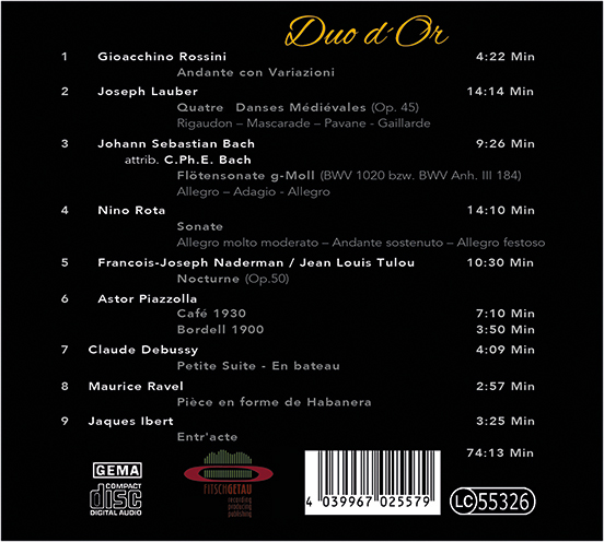 CD-Backcover
